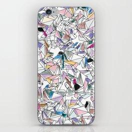 Geometricly Speaking iPhone Skin