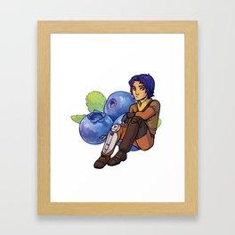 SWR Blueberry Framed Art Print