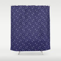 geo Shower Curtains featuring GEO by Audule