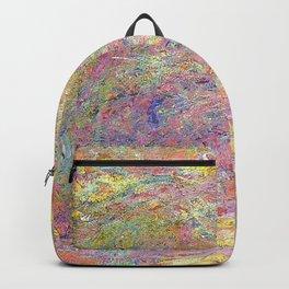 Path under the Rose Trellises. laude Monet. 1918-1924. Backpack