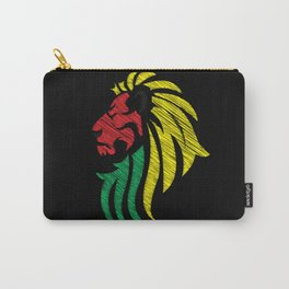 Lion Reggae Colors Cool Flag Carry-All Pouch
