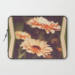 Salmon Colored Fields Laptop Sleeve