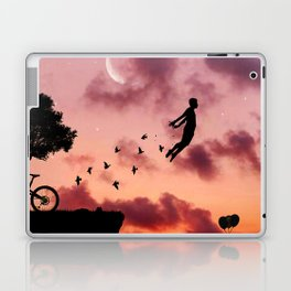 Once You Become Fearless Life Becomes Limitless. Laptop & iPad Skin