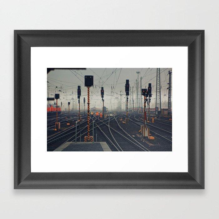 trainyard Framed Art Print