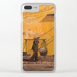 Hanoi Hawker Clear iPhone Case