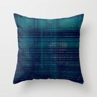 moss Throw Pillows featuring MOSS by Mike Maike