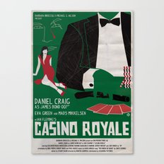 CASINO ROYALE Canvas Print