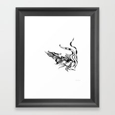 Dragon — Alternative t-shirt style (small image) Framed Art Print