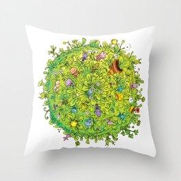 NATU NATU WORLD Throw Pillow