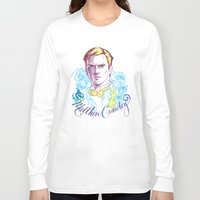downton abbey Long Sleeve T-shirts featuring RIP Matthew Crawley, of Downton Abbey.  by Erin Gallagher Illustration and Design