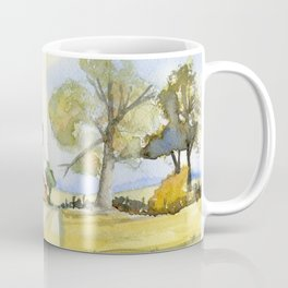 Country Cottage in Kentucky Coffee Mug