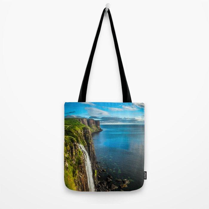 Skye Falls Tote Bag