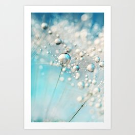 Sparkle in Blue Art Print