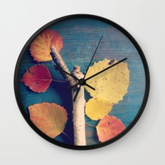 It's a Colorful World 2 Wall Clock