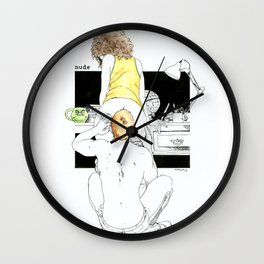NUDEGRAFIA - 27 Wall Clock