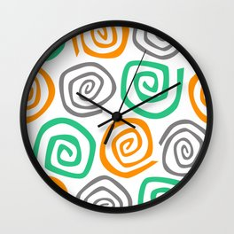 Snail Party Wall Clock