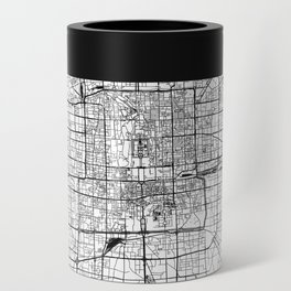 Beijing White Map Can Cooler