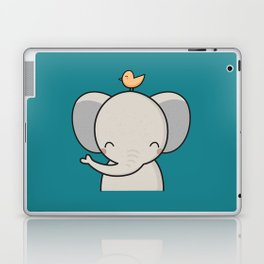 Kawaii Cute Elephant Laptop & iPad Skin