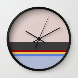 Wesley Crush er - Minimalist Star Trek TNG The Next Generation - 1701 D - startrek - Trektangles Wall Clock