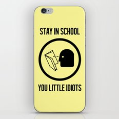 Wise Up iPhone & iPod Skin