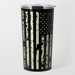 USS Wyoming Travel Mug