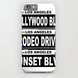 Los Angeles California iPhone Case