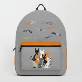 meow meow Backpack