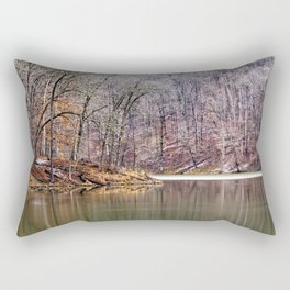 early spring in Ohio Rectangular Pillow