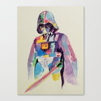vader Canvas Prints featuring vader by kuri