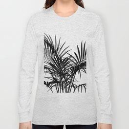 Little palm tree in black Long Sleeve T-shirt
