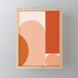 abstract minimal #8 Framed Mini Art Print