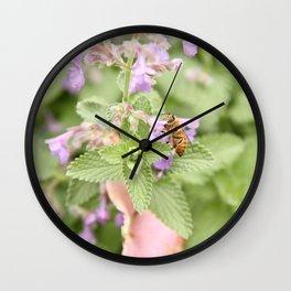 Nana's Garden Wall Clock
