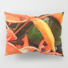 STUNNING ORANGE BLOOMS Pillow Sham