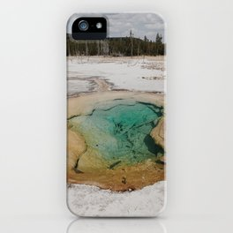 Geothermal Energy iPhone Case