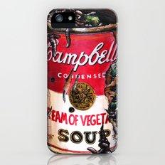 Cream of Vegetable iPhone (5, 5s) Slim Case