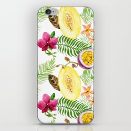 Fruits and Flowers iPhone Skin