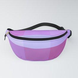 Pixels: Purple & Pink Fanny Pack