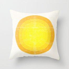Sun I Throw Pillow