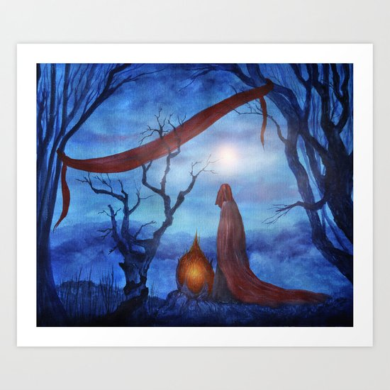 Tales of Halloween IV Art Print
