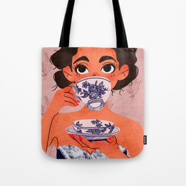Stay Classy Drink Tea Tote Bag