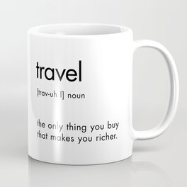 Travel Definition Coffee Mug