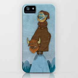 Man of the Mountains iPhone Case
