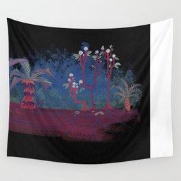 Gouache Dream Plants Wall Tapestry