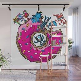Skate Donut Wall Mural