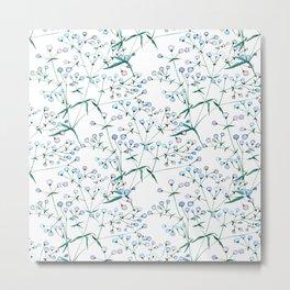 Veil of flowers Metal Print