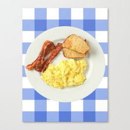 give me all the bacon eggs you have Canvas Print