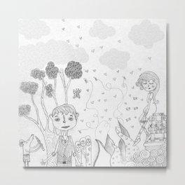 The Rodolfo Mouse  Metal Print