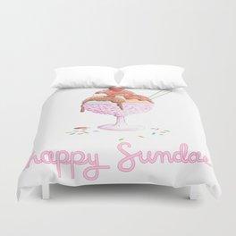 Happy Sundae Duvet Cover