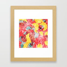 Colorful abstract artwork Framed Art Print