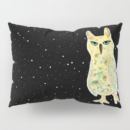 Intergalactic owl Pillow Sham
